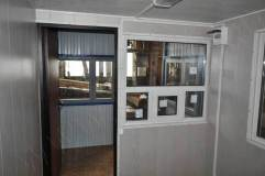 Окно с форточкой (вид изнутри)