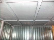 На крыше стальной лист толщиной 2 мм