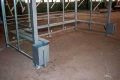 Скамья располагается по трем стенкам КМ-5С