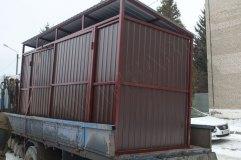 Внешний  вид контейнерной площадки КП-1