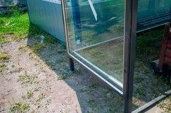 Рекламный носитель - открывающаяся дверца с остеклением триплексом