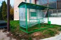 Подготовленная к отгрузке автобусная остановка ОМ-15