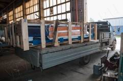 Подготовка к транспортировке сборно-разборной автобусной остановки ОМ-5