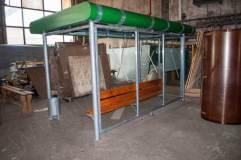Задняя стенка остановочного павильона ОМ-8