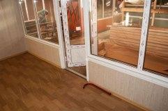 Внутренняя отделка павильона делает его комфортным и уютным