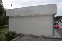 Глубина павильона 6 метров