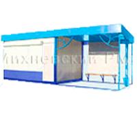 Торгово-остановочный павильон - ОТМ-5