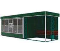Торгово-остановочный павильон - ОТМ-7