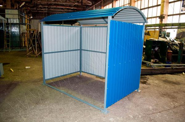 Открытая контейнерная площадка для мусора