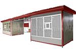 Модульный торгово-остановочный павильон (модель 2КО)