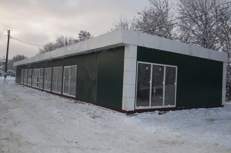 Модульный павильон площадью 220 кв метров