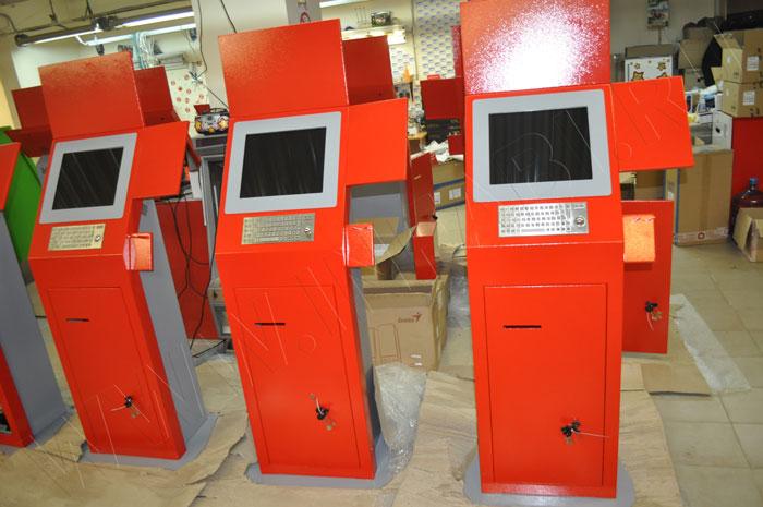 Промышленные информационные терминалы для склада