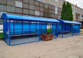 Остановочные павильон подготовленные к отгрузке