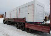 Подготовка партии торговых павильонов «Городской» к транспортировке