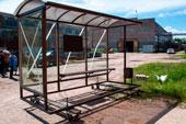 Миниатюра остановочного павильона ОМ-15