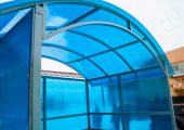 Крыша арочного типа