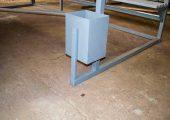 ОМ-15 комплектуется прямоугольной урной для мусора