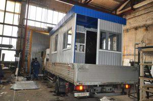 Подготовка поста охраны к транспортировке