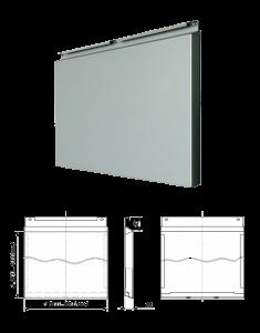 Фасадная кассета -внешний вид отделочного материала