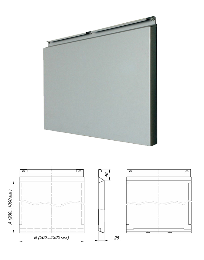 Фасадная кассета - внешний вид отделочного материала