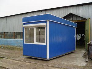 """Модуль мини-магазина """"Пригородная касса"""" с окном на торцевой части"""