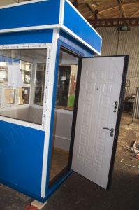 Металлическая дверь с отделкой внутренней стороны МДФ