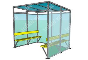 Павильон для курения КМ-22 (миниатюра)