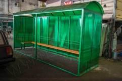 Внешний вид павильона для курения КМ-1Б