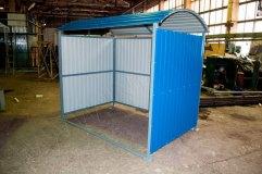 Общий вид контейнерной площадки КП-2