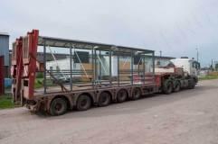 Остановочные павильоны ОМ-15 на транспортном средстве
