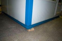 В основании будки оператора швеллер