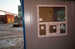 Предусмотрено окно с форточкой