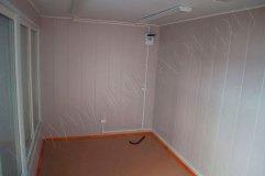 """Внутренняя отделка торгового павильона """"Продукты"""" (стены панели МДФ, потолок - пластиковые панели)"""