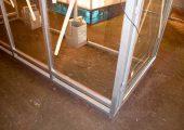 КМ-16 остеклена триплексным стеклом по трем сторонам
