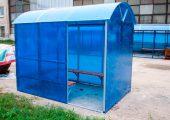 Внешний вид павильона для курения КМ-2П
