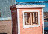В строении 3 двустворчатых окна