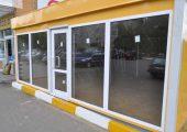 Большие витринные окна